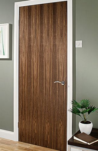 Walnut Veneer Interior Door
